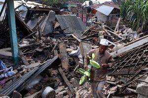 Indonesia lại xảy ra động đất mạnh 5,8 độ