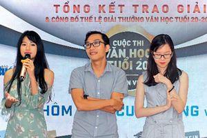 Trao giải 'Văn học tuổi 20': Phản ánh góc nhìn thẳng thắn, đầy cảm xúc