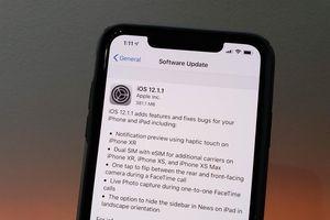 Có nên cập nhật iOS 12.1.2 cho iPhone X?