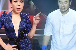 Akira Phan đỏ mặt vì bị Việt Hương nhắc chuyện cân nặng trên sân khấu