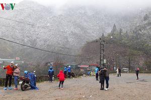 Khả năng xuất hiện mưa tuyết trên đỉnh Fansipan