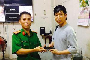 Cảnh sát tóm gọn thanh niên cướp giật điện thoại của du khách Hàn Quốc