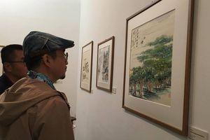 Khai mạc triển lãm tác phẩm nghệ thuật giao lưu văn hóa truyền thống Việt – Trung
