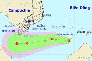 Xuất hiện vùng áp thấp mới có thể mạnh thành bão, ảnh hưởng Nam Bộ
