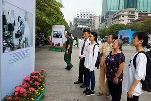 Triển lãm ảnh '320 năm Sài Gòn - Thành phố Hồ Chí Minh - Khát vọng vươn cao'