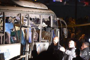 Toàn cảnh vụ xe chở du khách Việt trúng bom tại Ai Cập