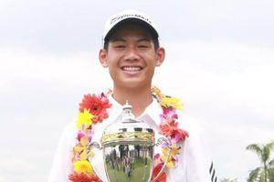 Đặng Quang Anh vô địch giải golf đối kháng quốc gia ở tuổi 13