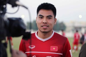 Tiền vệ Đức Huy: Tuyển Việt Nam không áp lực, quan trọng nhất là kết quả ở Asian Cup 2019