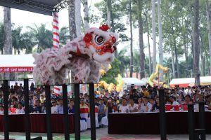 Bế mạc Liên hoan lân - sư - rồng TP Hồ Chí Minh lần 2