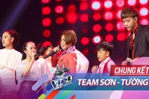 Team Sơn - Tường 'tổng tiến công' sân khấu Chung kết Giọng hát Việt nhí 2018 bằng loạt 'hit' khủng