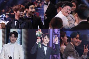 Khoảnh khắc đáng nhớ của Kang Daniel, Seungri, Henry và Yang Yoseob tại 'MBC Entertainment Awards 2018'