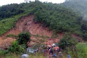 Thông tin nhanh về diễn biến mưa, sạt lở đất ngày 30/12 tại Khánh Hòa