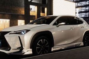 Lexus UX thêm phần ấn tượng với phụ kiện của Modellista