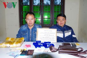 Điện Biên bắt 2 đối tượng mua bán vận chuyển 12.000 viên ma túy tổng hợp