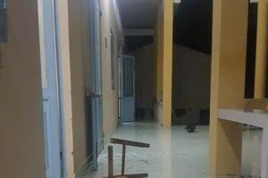 Gần 20 đối tượng đập phá trụ sở ban chỉ huy quân sự xã vì xích mích