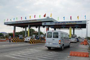 Tạm dừng thu phí cao tốc TP.HCM - Trung Lương từ 0 giờ 1.1.2019