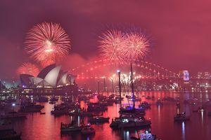 Rực rỡ tiệc pháo hoa đón năm mới 2019