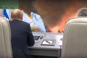 Cùng Putin xem sức mạnh hủy diệt của tên lửa siêu thanh Avangard