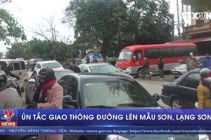 Ùn tắc giao thông đường lên Mẫu Sơn, Lạng Sơn