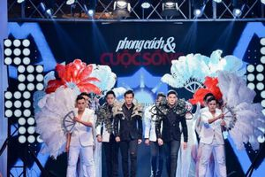 Siêu mẫu Nam Phong chinh phục hoàn toàn giới mộ điệu với hơn 40 mẫu trang phục tại Đại hội Mỹ Nam mùa 6