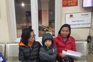 CSGT Hà Nội giúp nhiều gia đình trong những ngày giá rét