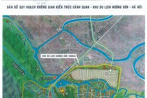 Khu du lịch tâm linh mới do DN Xuân Trường đề xuất không nằm ngoài nằm ngoài di tích Hương Sơn