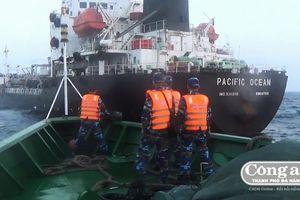 Trận chiến bắt 'vàng đen' lậu trên biển