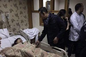 Nạn nhân vụ đánh bom ở Ai Cập được cấp cứu tại Bệnh viện ĐH Y dược TPHCM
