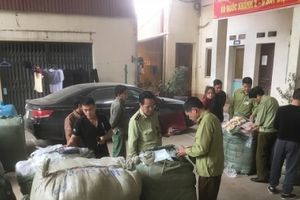 Lạng Sơn liên tiếp thu giữ lượng lớn hàng hóa vi phạm nguồn gốc xuất xứ