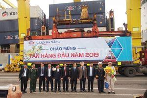 Đà Nẵng: Đón tấn hàng đầu tiên qua Cảng Đà Nẵng