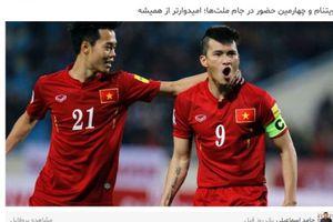 Báo Iran liên tục 'công kích' ĐT Việt Nam trước thềm Asian Cup 2019