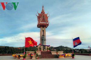 Khánh thành Tượng đài Hữu nghị Việt Nam-Campuchia