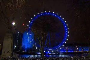 Pháo hoa chúc mừng năm mới của London chứa thông điệp ngầm ủng hộ EU