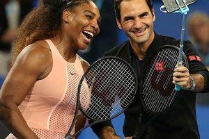 Federer hạ Williams, tuyển Thụy Sĩ thắng thế tại Hopman Cup