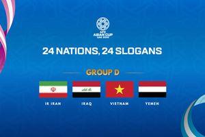 Asian Cup: Các đối thủ của Đội tuyển Việt Nam