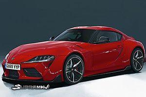 Toyota nhá hàng xe thể thao huyền thoại Supra thế hệ mới