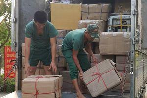 Bắt vụ vận chuyển hàng lậu trị giá khoảng 1 tỷ đồng