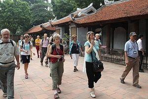 Lượng khách du lịch tới Hà Nội dịp Tết Dương lịch tăng hơn 10%
