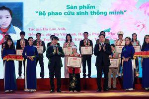 Phao cứu sinh thông minh của học sinh tiểu học Phú Thọ