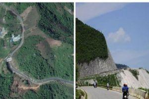 Đèo Thung Khe với những khúc cua 'tử thần', điểm đen tai nạn