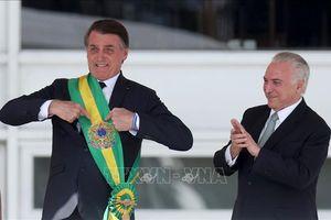 Tân Tổng thống Brazil Jair Bolsonaro nhậm chức