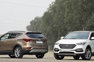 Cập nhật 'nóng' giá loạt xe Hyundai Santa Fe 2018 cuối cùng