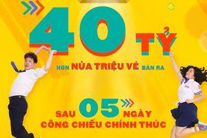 Bất chấp tranh cãi, phim của Thái Hòa vẫn đạt hơn nửa triệu vé và 40 tỷ đồng sau 5 ngày