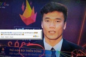 Thủ môn Bùi Tiến Dũng nói gì khi VTV viết nhầm thành tên nhạy cảm?
