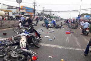 Danh tính tài xế xe 'container điên' gây tai nạn kinh hoàng tại Bến Lức, Long An