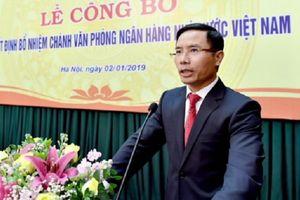 Phó chủ tịch HĐTV Agribank làm Chánh Văn phòng Ngân hàng Nhà nước
