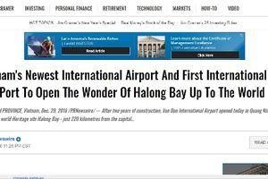 Hạ Long – Vân Đồn xuất hiện dày đặc trên báo chí quốc tế với 3 dự án giao thông tầm cỡ được vận hành