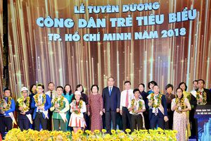 Tuyên dương 9 công dân trẻ tiêu biểu Thành phố Hồ Chí Minh