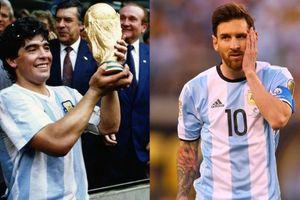 Zico: 'Diego Maradona hay hơn Lionel Messi'