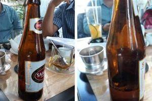 Khách hàng kiện Sabeco vì mua phải chai bia kém chất lượng